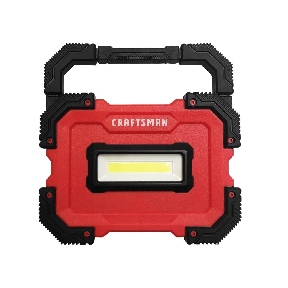 BATTERY INCLUDED Craftsman 500-lumen LED RECHARGEABLE spotlight Fights