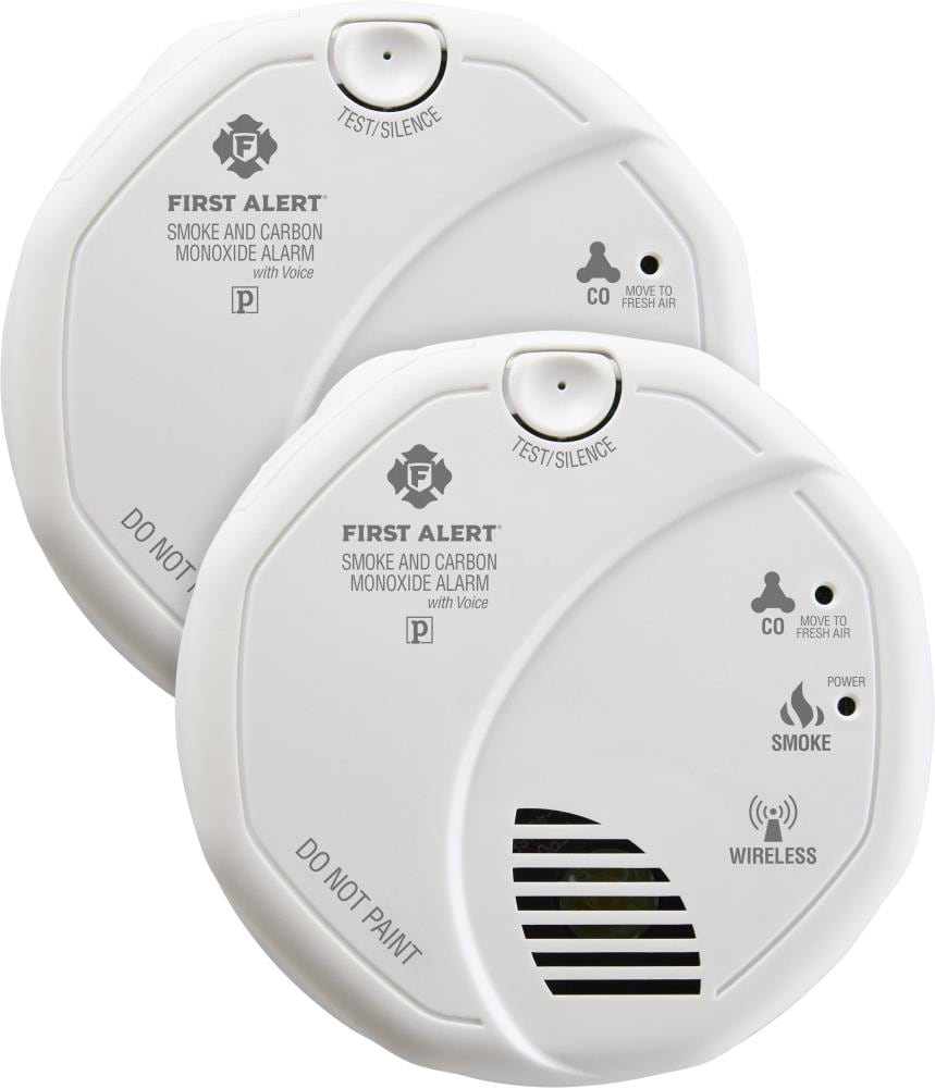 Open Box First Alert SC0500 Battery Operated Smoke and Carbon Monoxide Alarm