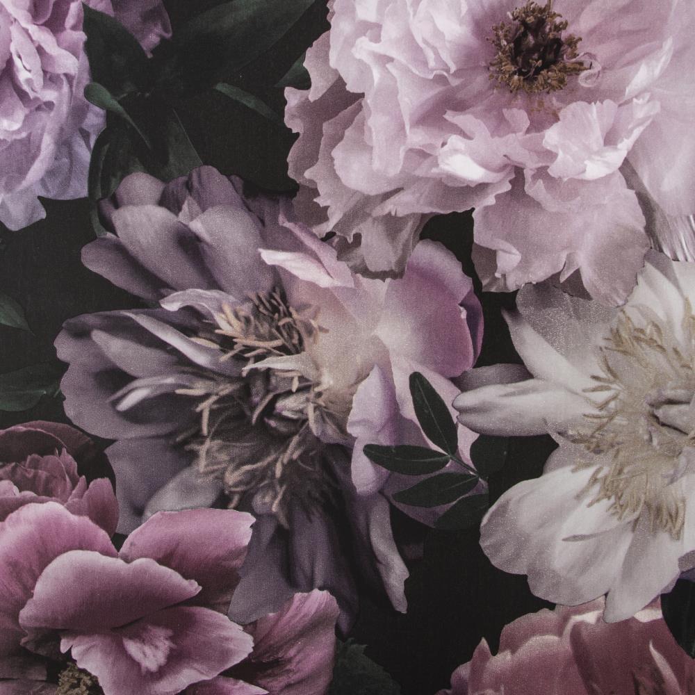Fresco Kids at home 56-sq ft Pink/Black Paper Floral Unpasted Wallpaper