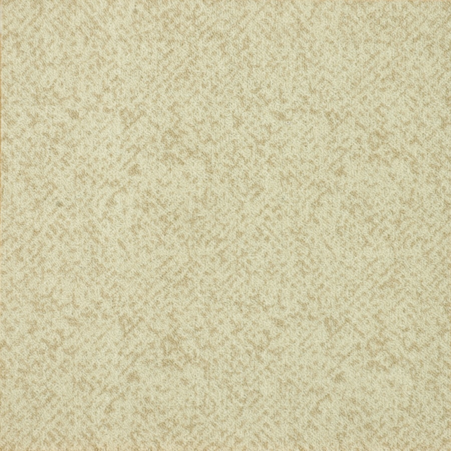 Milliken 20 Pack Casual Cream Textured Adhesive backed Carpet Tile ...