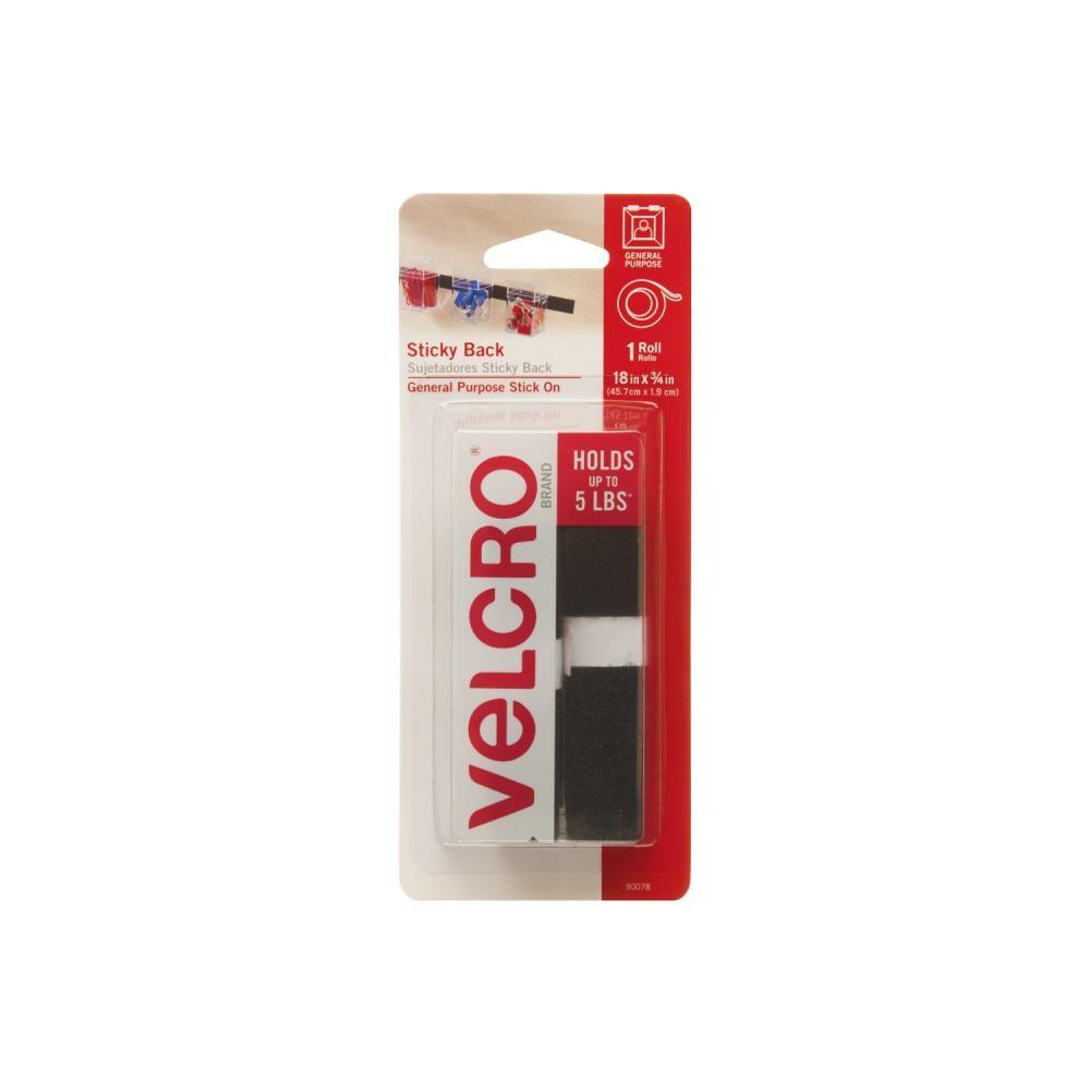 Velcro Brand Self Adhesive Back Coins Circles 3//4 in .75 in 10 Sets Hook /& Loop
