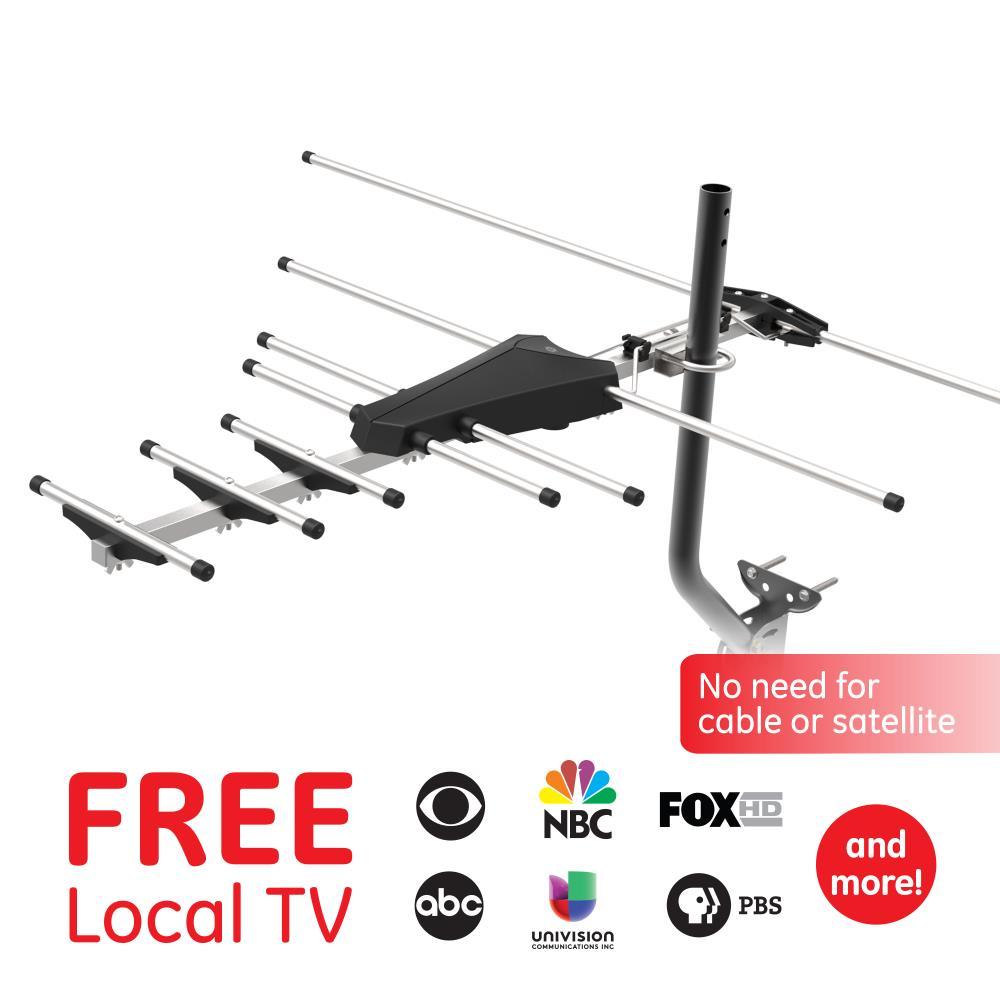 Outdoor tv antenna hookup