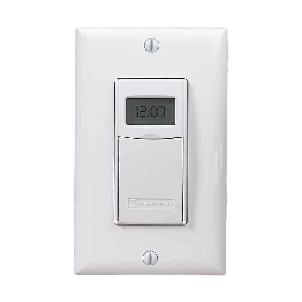 INTERMATIC 7 Day Heavy Duty Digital Programmable Timer 110 VOLT Outlet 15AMP