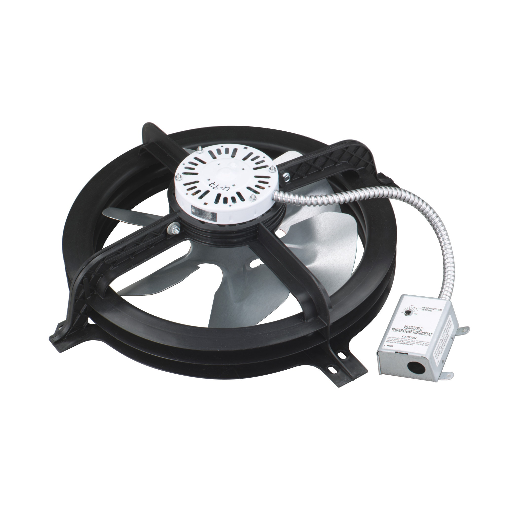 Air Vent 20 in Dia Electric Gable Vent Fan in the Gable Vent Fans ...