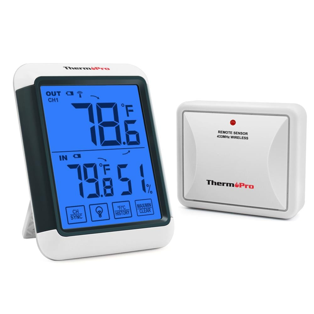 Remote Digital Wireless Thermometer Sensor Temperature Humidity Weather Station