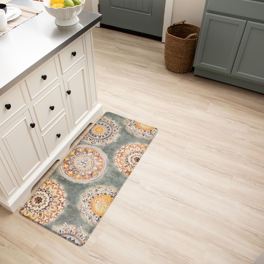 Style Selections 9 ft x 9 ft Rectangular Indoor Anti Fatigue Mat ...