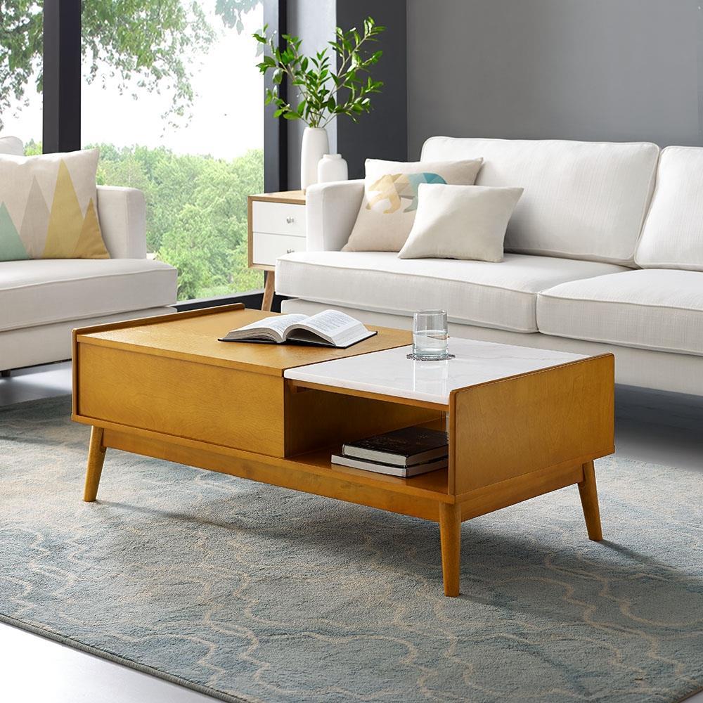 Crosley Furniture LANDON STORAGE COFFEE TABLE in the Coffee Tables ...