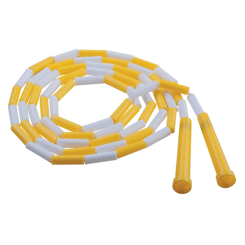 Champion Sports-Plastique segmenté Cordes Jaune /& Blanc 8 FT environ 2.44 m