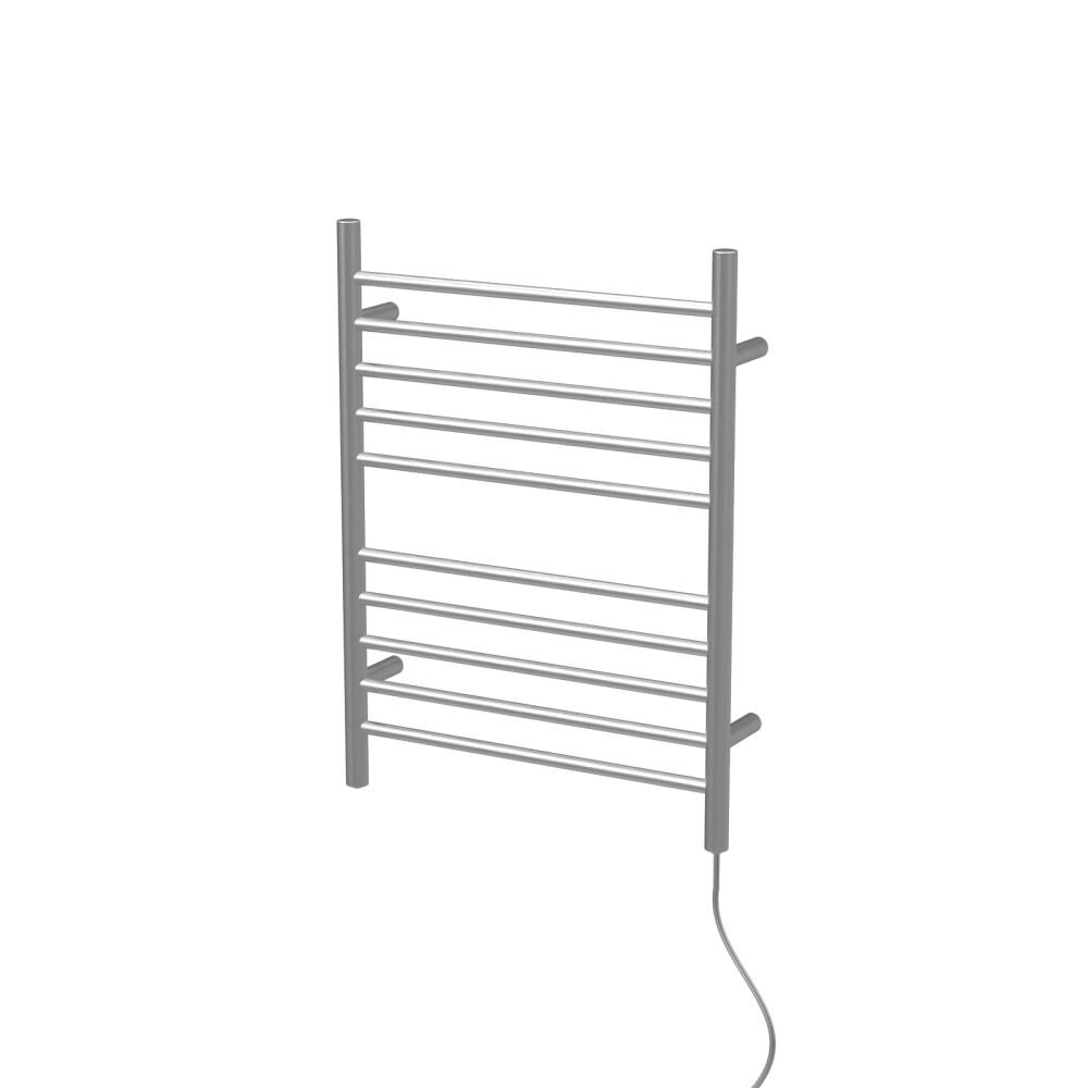 "Brushed W 23/"" H 31.5/"" Amba RWP-SB Radiant Plug-In Straight Towel Warmer"