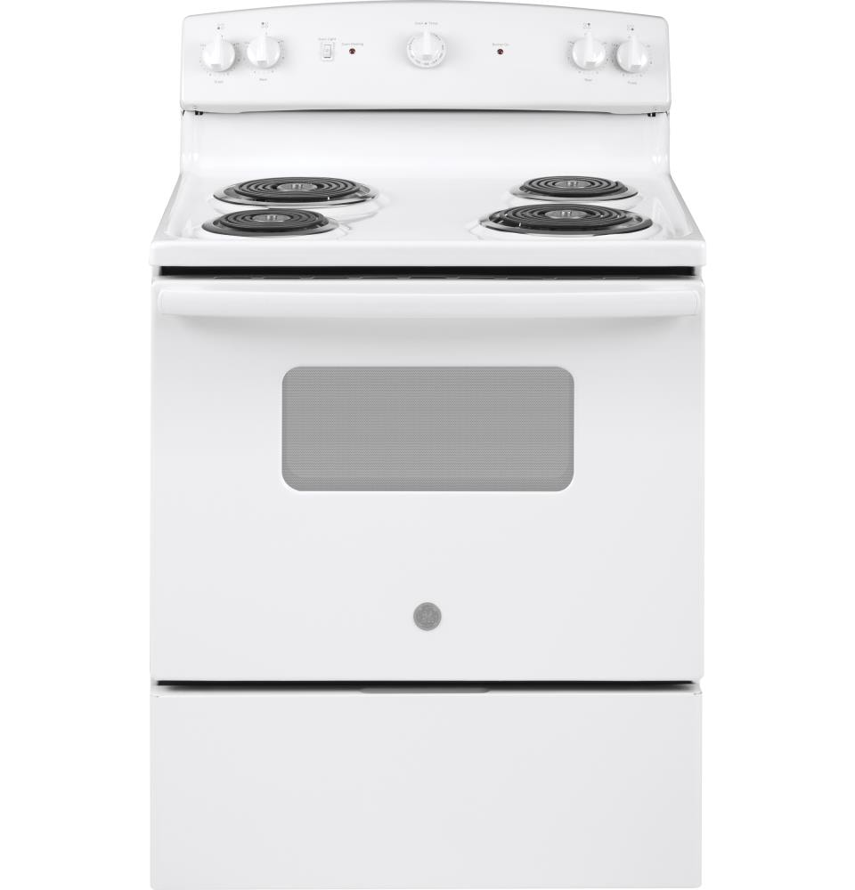 GE 30-in 4 Elements 5-cu ft Freestanding Electric Range (White) in the  Single Oven Electric Ranges department at Lowes.com | Ge Stove Electric Range Wiring Diagram |  | GE 30-in 4 Elements 5-cu ft Freestanding Electric Range (White) in the  Single Oven Electric Ranges department at Lowes.com