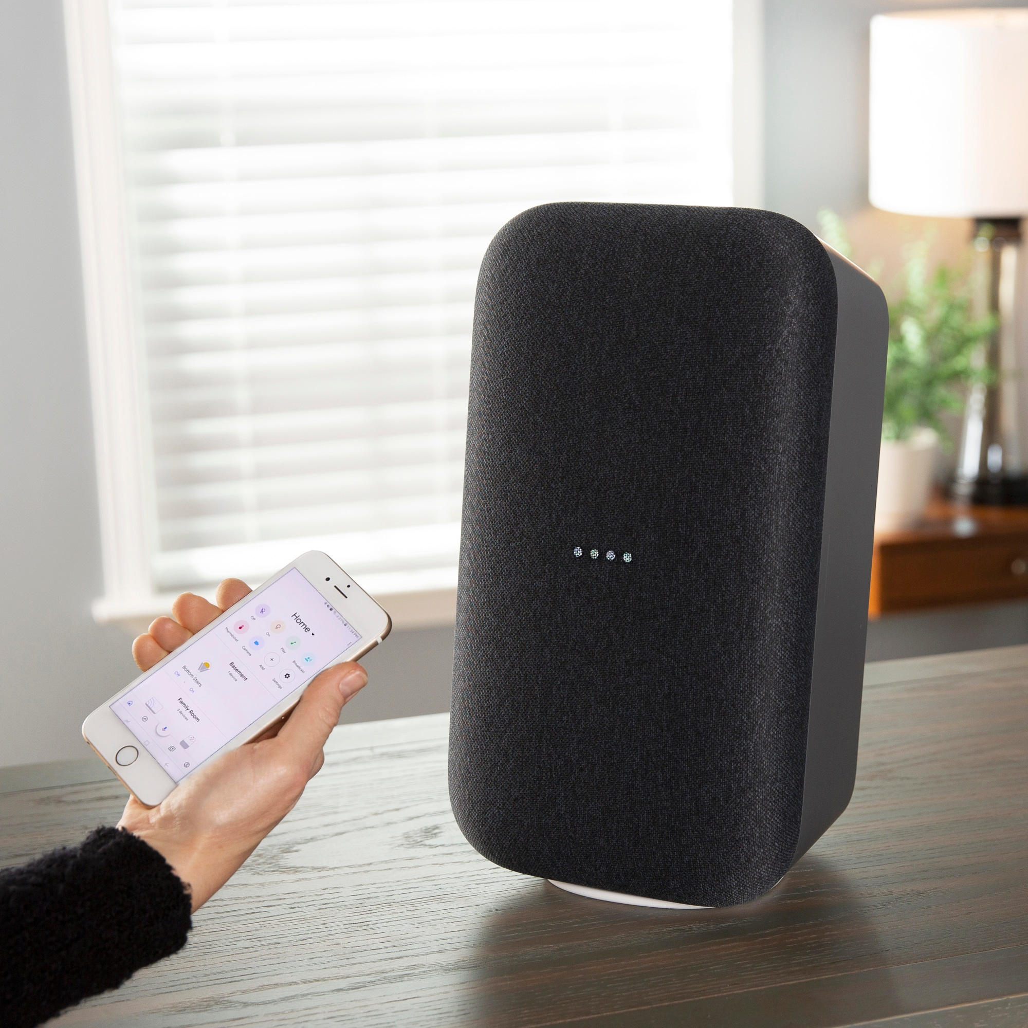 Google Home Max Charcoal at Lowes.com