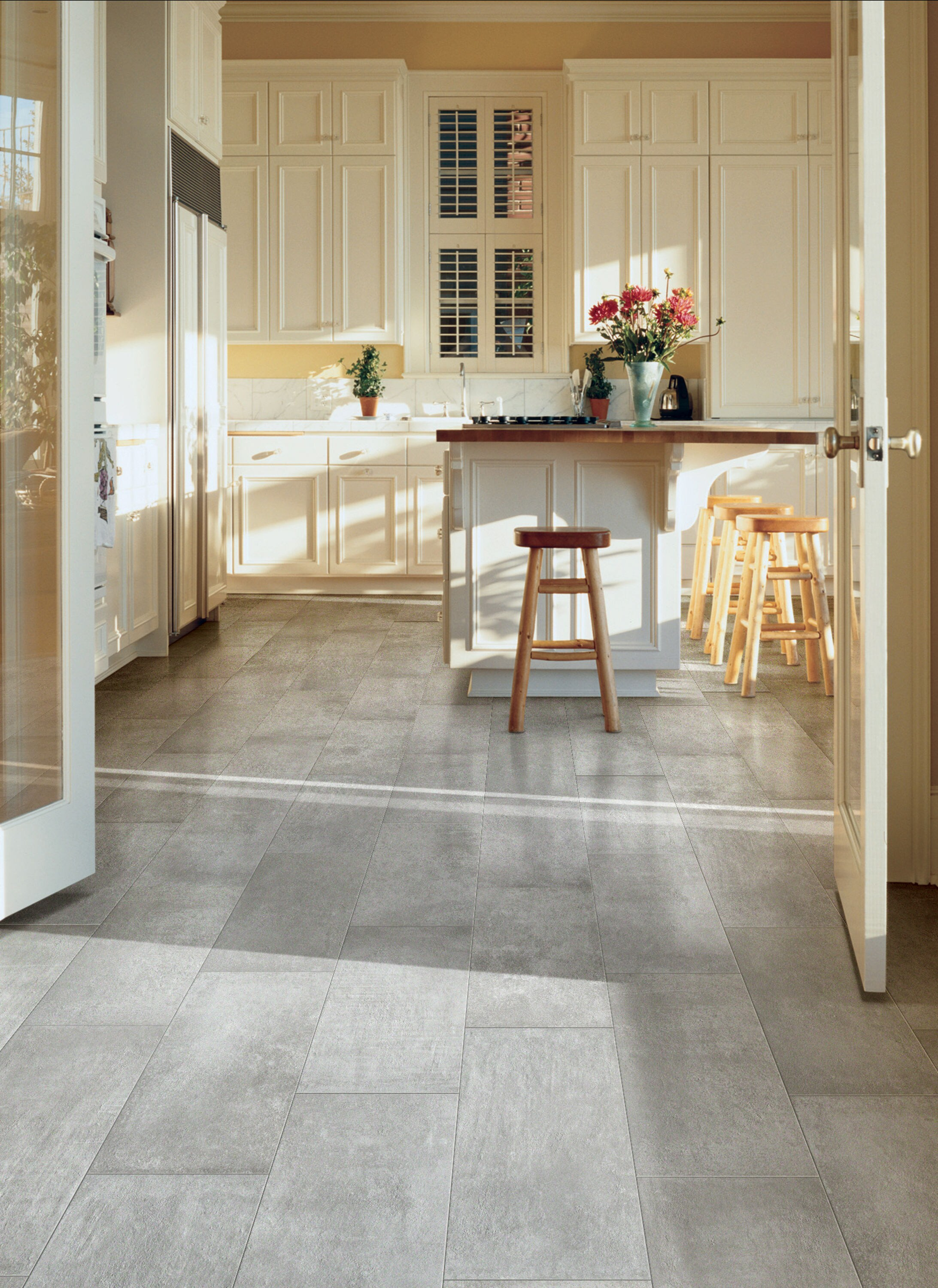 Style Selections DRP 9 9 CITYSIDE GRAY TILE S in the Tile ...