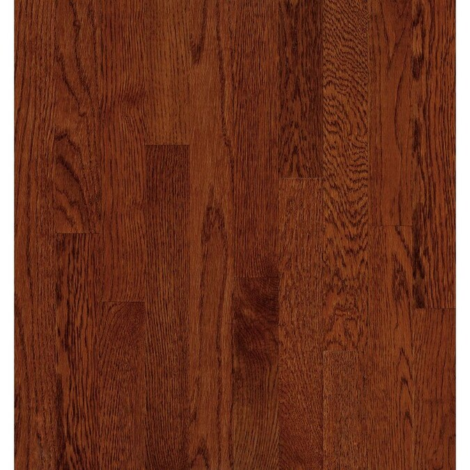 Bruce Natural Choice 2 1 4 In Wide X 5 16 In Thick Oak Cherry Smooth Traditional Solid Hardwood Flooring 40 Sq Ft In The Hardwood Flooring Department At Lowes Com