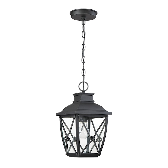 Designers Fountain Belmont 1 Light Outdoor Hanging Lantern In The Ceiling Light Mounts Department At Lowes Com