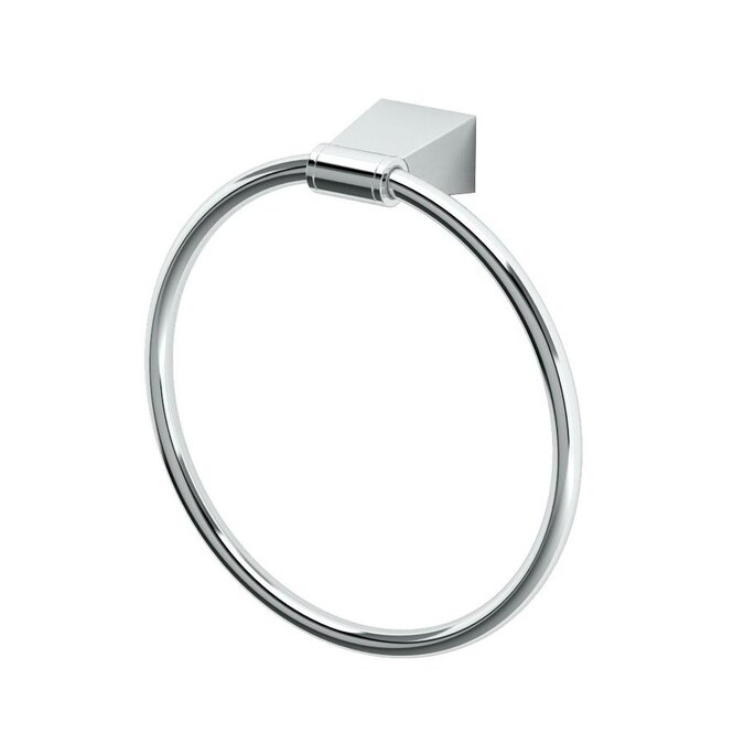 Gatco Bleu Chrome Wall Mount Towel Ring In The Towel Rings Department At Lowes Com