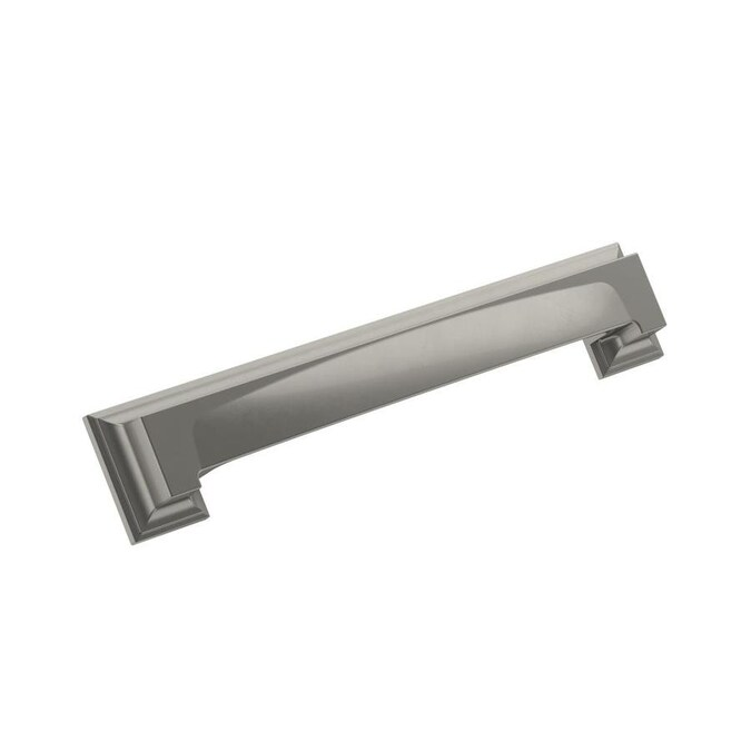 Mng Hardware Sutton Place 5 1 16 In Center To Center Satin Nickel Rectangular Handle Drawer Pulls In The Drawer Pulls Department At Lowes Com
