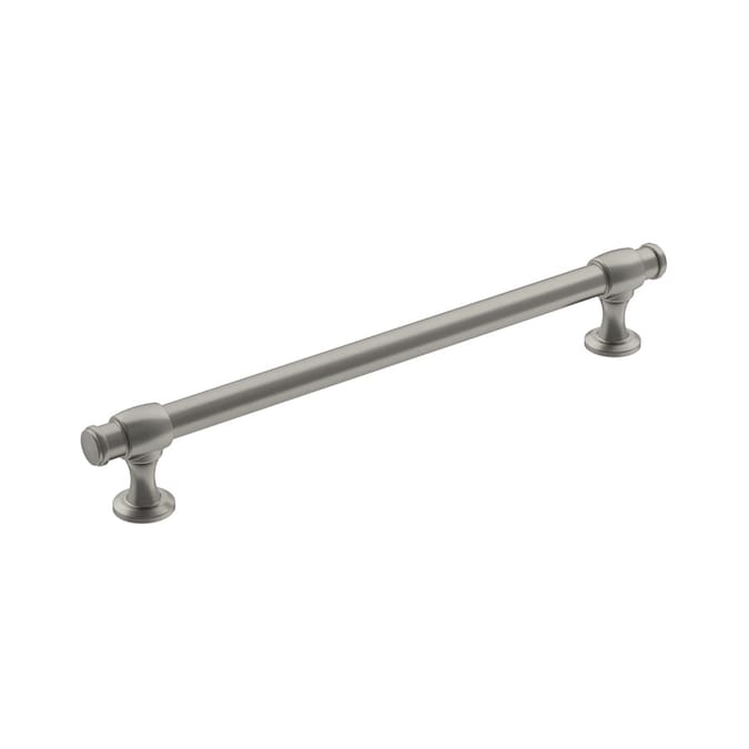 Amerock Appoint 7 9 16 In Center To Center Satin Nickel Rectangular Bar Drawer Pulls In The Drawer Pulls Department At Lowes Com