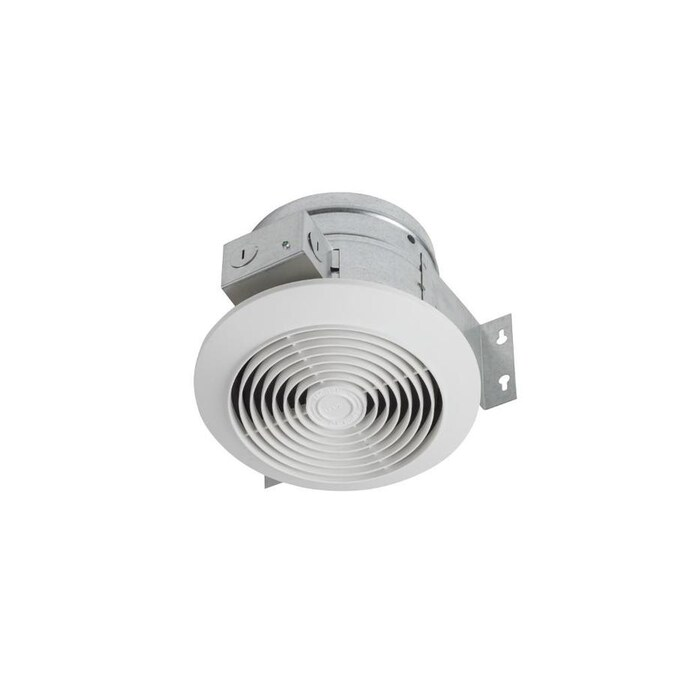 Broan Ventilation Fan 4 5 Sone 60 Cfm White Bathroom Fan In The Bathroom Fans Heaters Department At Lowes Com