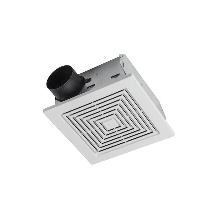 Broan Ceiling Wall Exhaust Fan 5 5 Sone 60 Cfm White Bathroom Fan In The Bathroom Fans Heaters Department At Lowes Com