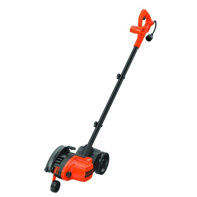 Black Decker 7 5 In Corded Electric Lawn Edger In The Lawn Edgers Department At Lowes Com