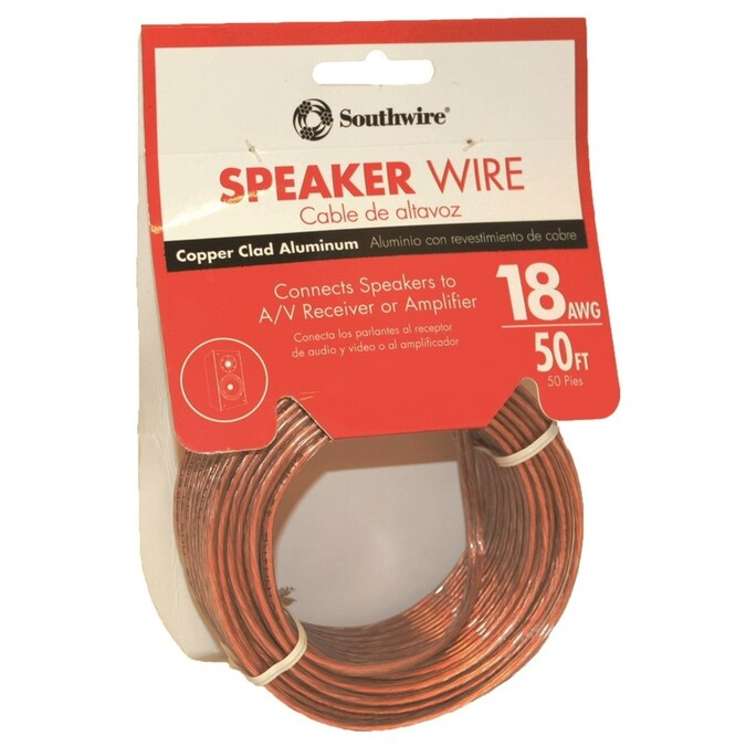 Southwire 8-ft 8/8 Standard Speaker Wire (By-the-Roll)
