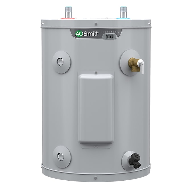A O Smith Signature 6 Gallon Compact 6 Year Limited 1500 Watt 1 Element Point Of Use Electric Water Heater In The Electric Water Heaters Department At Lowes Com