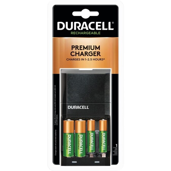 Duracell Ion Speed Rechargeable Nickel Metal Hydride Nimh Aa Batteries 4 Pack In The Aa Batteries Department At Lowes Com