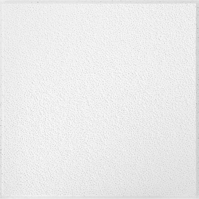 Armstrong Ceilings 24 In X 24 In Brighton 16 Pack White Textured 15 16 In Drop Acoustic Panel Ceiling Tiles In The Ceiling Tiles Department At Lowes Com