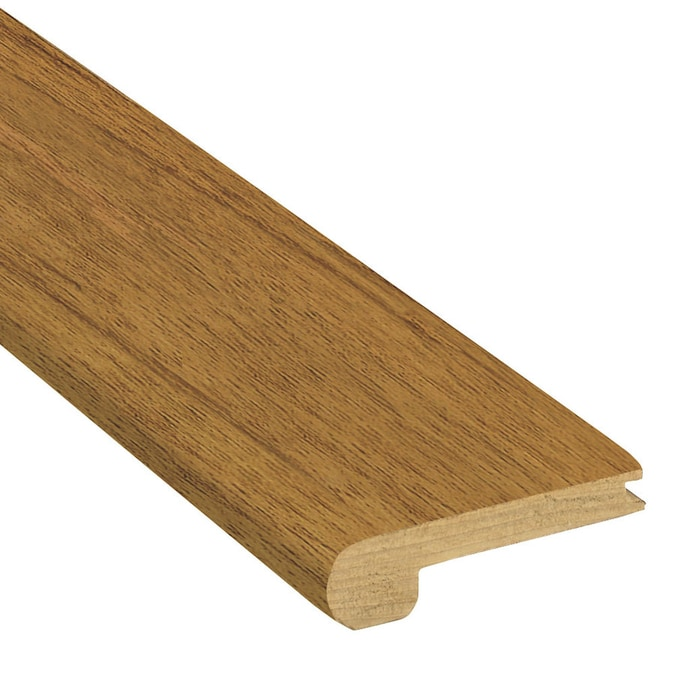 Flexco Solid Wood Stair Nose 2 75 In X 78 In Gunstock Prefinished Oak Stair Nosing In The Stair Nosing Department At Lowes Com