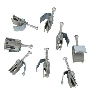 Plumb Pak 8-Piece Steel Universal Sink Mounting Clips at Lowes.com