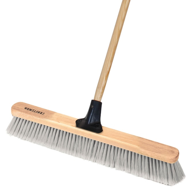 Craftsman 24 In Poly Fiber Shop Garage Push Broom In The Brooms Department At Lowes Com