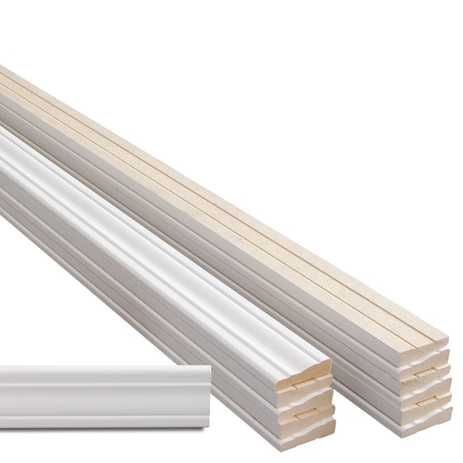 11 16 In X 2 1 4 In X 7 Ft Primed Mdf Casing In The Window Door Moulding Department At Lowes Com
