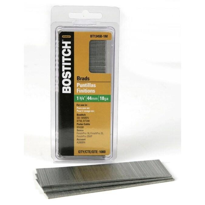 Stanley Bostitch BT1338B-1M 1-1//2-Inch Brad Nail 1000-Count