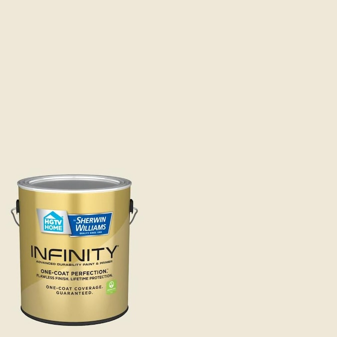 Hgtv Home By Sherwin Williams Infinity Semi Gloss Summer Linen 3005 10c Interior Paint 1 Gallon In The Interior Paint Department At Lowes Com