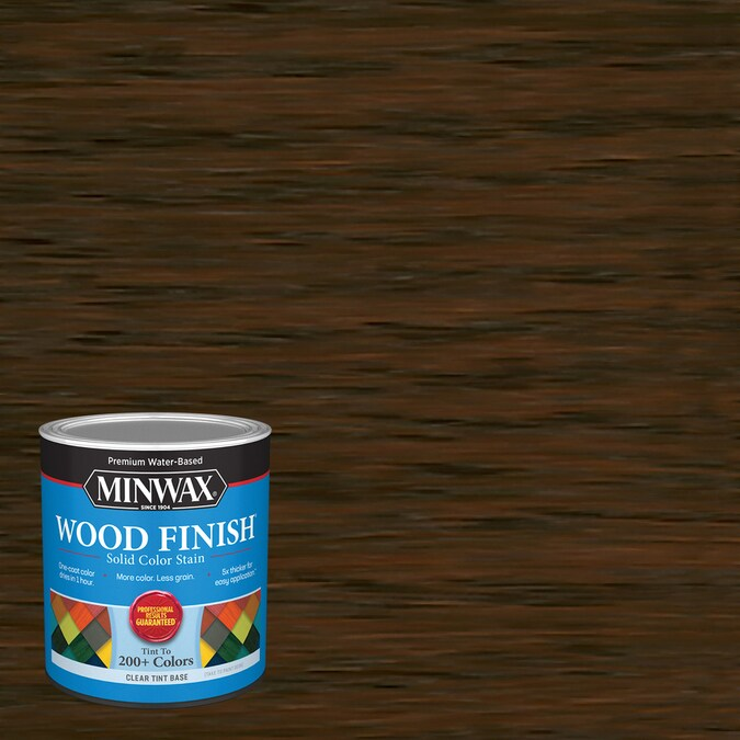 Minwax Wood Finish Water Based English Chestnut Mw233 Interior Stain 1 Quart In The Interior Stains Department At Lowes Com