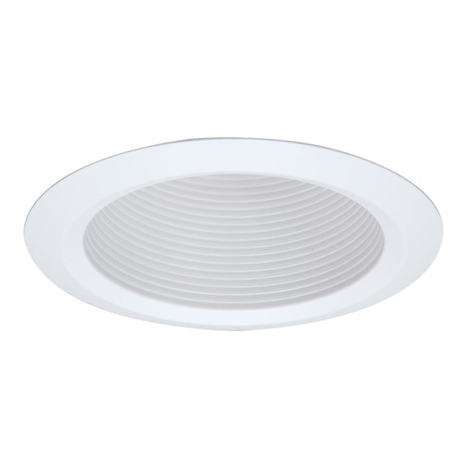 Halo 5 In White Baffle Recessed Light Trim In The Recessed Light Trim Department At Lowes Com