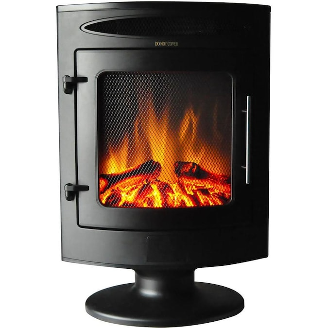 Cambridge 19 7 In W Black Fan Forced Electric Fireplace In The Electric Fireplaces Department At Lowes Com