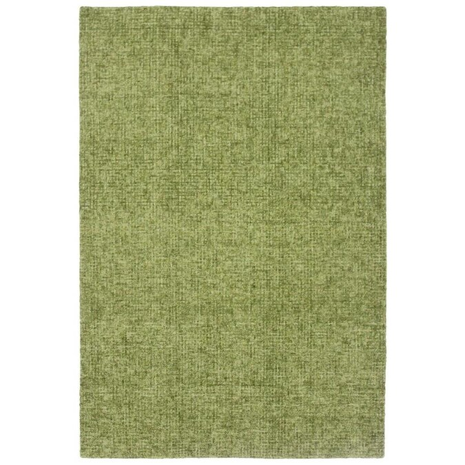 Liora Manne Savannah 8 X 10 Green Indoor Handcrafted Area Rug In The Rugs Department At Lowes Com