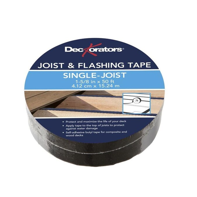 Deckorators Dck Joist Tape 1 5 8x50 Butyl In The Deck Tape Department At Lowes Com