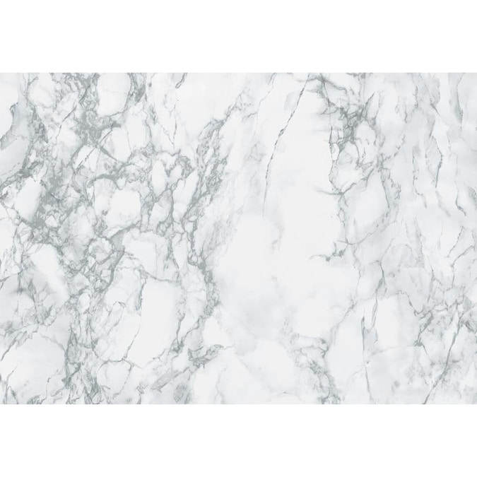 Dc Fix Grey Marble Adhesive Film Set Of 2 In The Wall Decals Department At Lowes Com