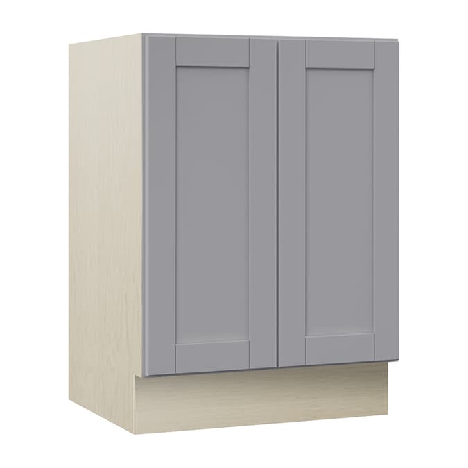 Villa Bath By Rsi Sanabelle 24 In Gray Bathroom Vanity Cabinet In The Bathroom Vanities Without Tops Department At Lowes Com