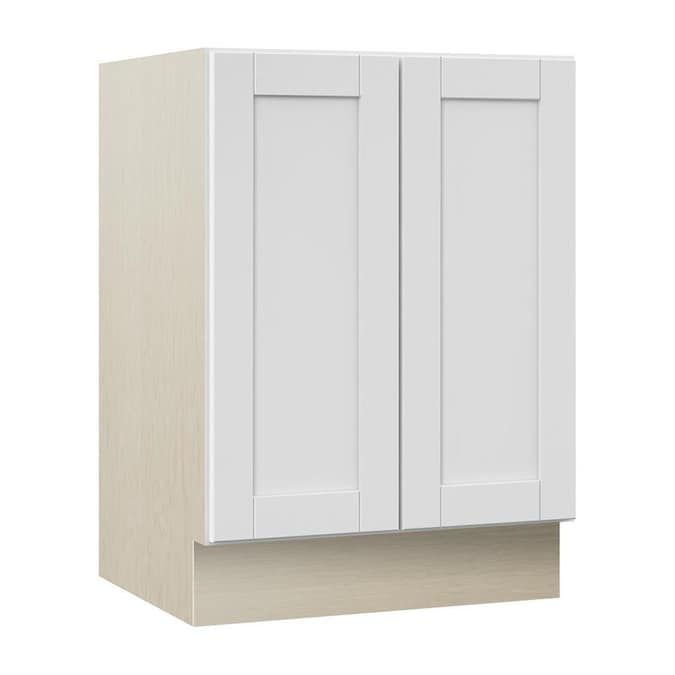 Villa Bath By Rsi Sanabelle 30 In White Bathroom Vanity Cabinet In The Bathroom Vanities Without Tops Department At Lowes Com