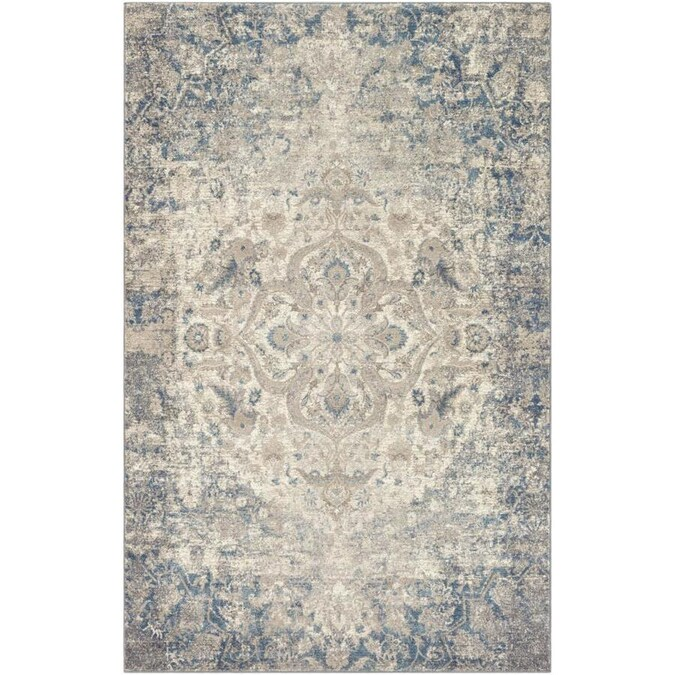 Surya Ayasofya 9 X 12 Taupe Indoor Medallion Oriental Area Rug In The Rugs Department At Lowes Com