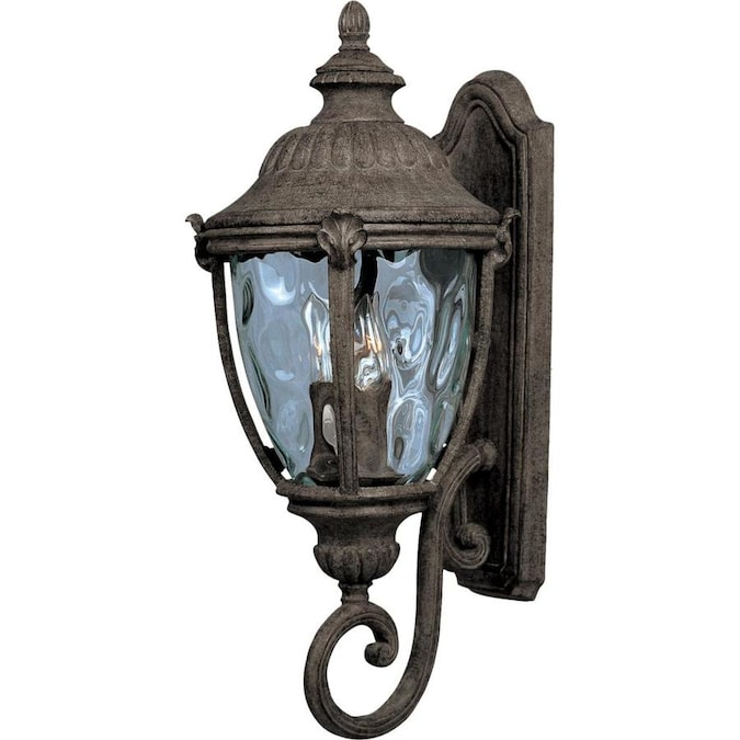 Maxim Lighting Morrow Bay Vx 26 In H Earth Tone Candelabra Base E 12 Outdoor Wall Light In The Outdoor Wall Lights Department At Lowes Com