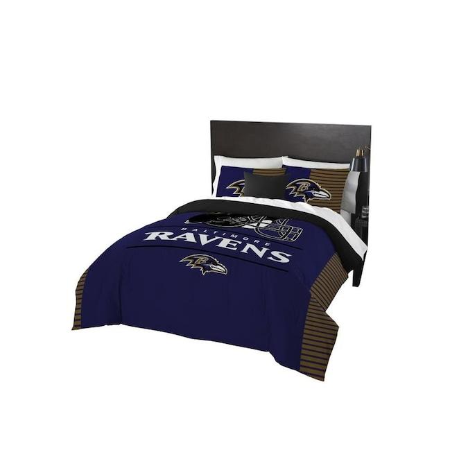 Q Comforter Set 3 Piece Multi, Oakland Raiders King Bedding