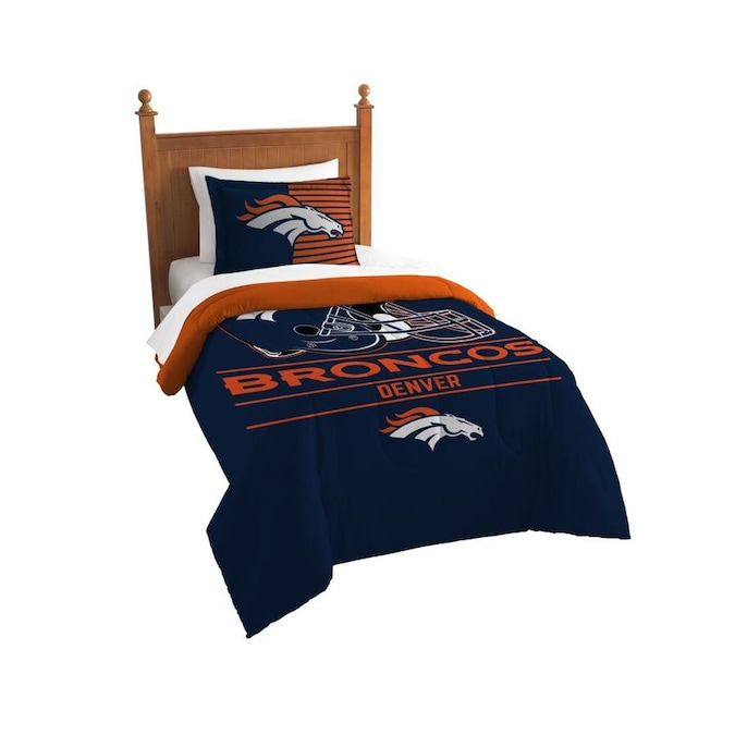 Piece Multi Twin Comforter Set, Denver Broncos Bedding Queen