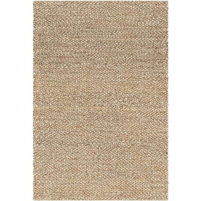 Surya Curacao 3 X 5 Taupe Indoor Solid Moroccan Handcrafted Area Rug In The Rugs Department At Lowes Com