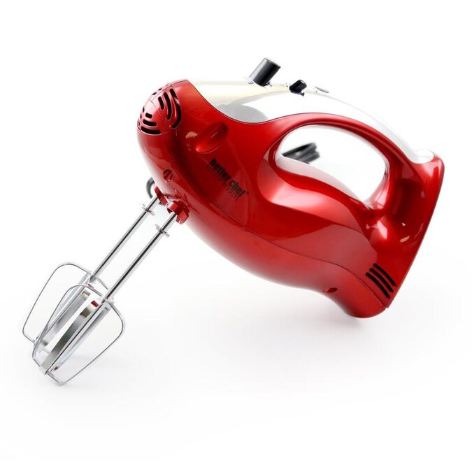 Better Chef 6 In Cord 2 Speed Red Hand Mixer In The Hand Mixers Department At Lowes Com