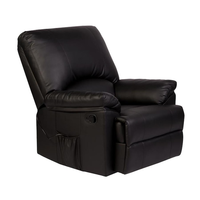 Onespace Massage Rocker Recliner With Heat In The Recliners Department At Lowes Com