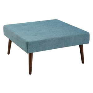 Linon Charlotte Upholstered Coffee Table Ottoman At Lowes Com